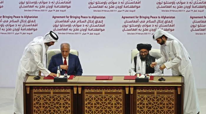 طالبان کی جیت، امریکا کی ہار کا معاہدہ