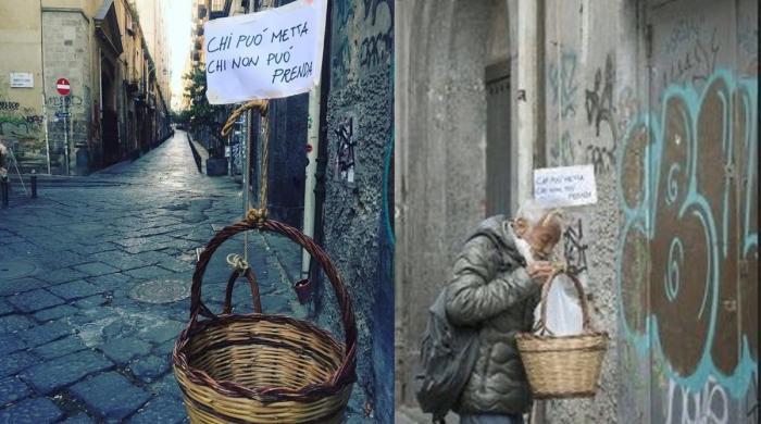لاک ڈاؤن: اطالوی باشندوں کا بے گھر افراد کی مدد کیلیے بہترین اقدام