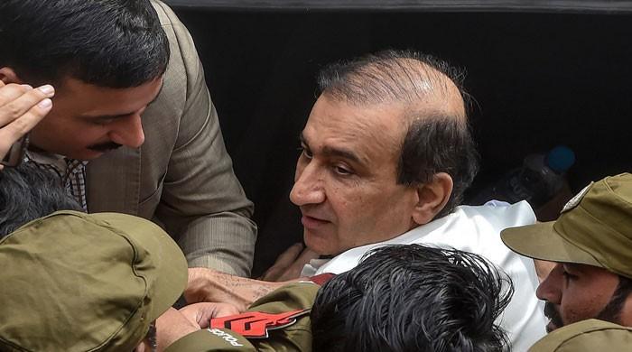 احتساب عدالت نےمیر شکیل الرحمان کے جسمانی ریمانڈ میں 18 اپریل تک توسیع کردی