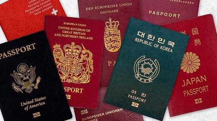 '2020 کی گلوبل پاسپورٹ انڈیکس رینکنگ میں پاکستانی پاسپورٹ کی 5 درجے بہتری'