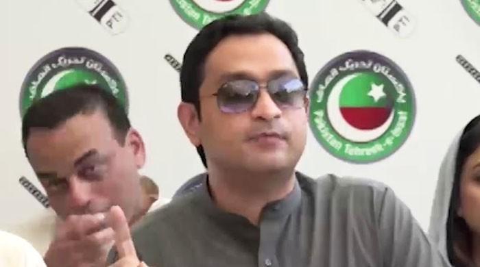 سینیٹ الیکشن: خرم شیر زمان اسمبلی میں موبائل لے آئے، آر او نے باہر نکال دیا