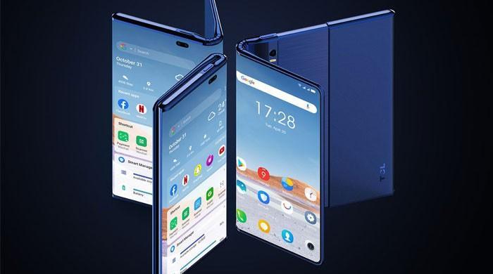دنیا کا پہلا اسمارٹ فون جسے فولڈ اور رول دونوں کیا جاسکے گا