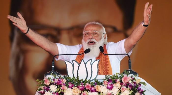 بھارت میں کورونا کی بدتر صورتحال کے باوجود جلسےکرنے پر مودی کو تنقید کا سامنا