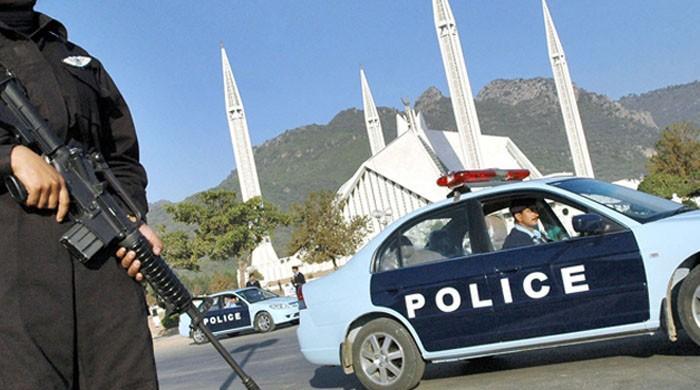 اسلام آباد میں سکیورٹی ہائی الرٹ کردی گئی