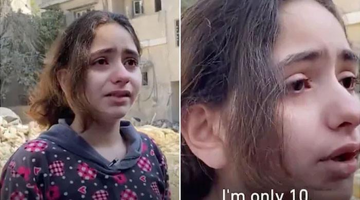 10 سالہ فلسطینی بچی کی فریاد نے پتھر دل بھی پگھلادیے