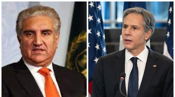 شاہ محمودکا امریکی وزیرخارجہ سے رابطہ، فلسطین اور دوطرفہ تعلقات پر تبادلہ خیال