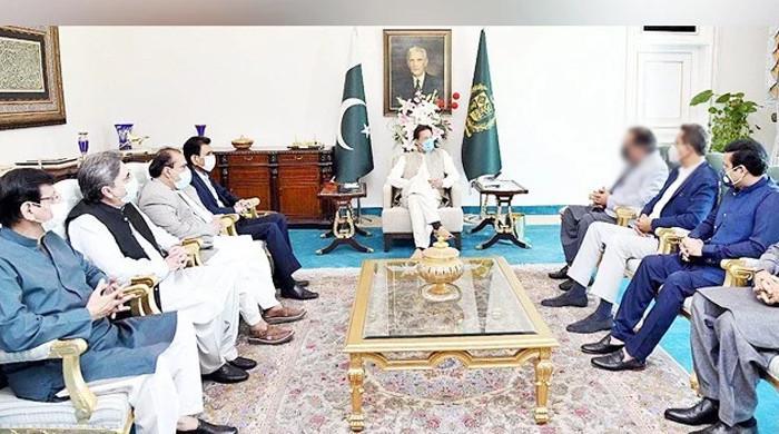 وزیراعظم سے ایم کیو ایم وفدکی ملاقات،کراچی میں پانی،بجلی کےمسائل اور مردم شماری پرگفتگو